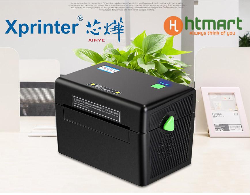 Máy in tem nhãn xprinter xp DT108B