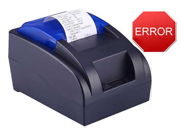 lỗi máy in bill bị error