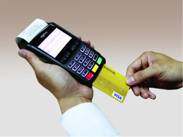 Giấy in cho Máy POS cà thẻ ngân hàng