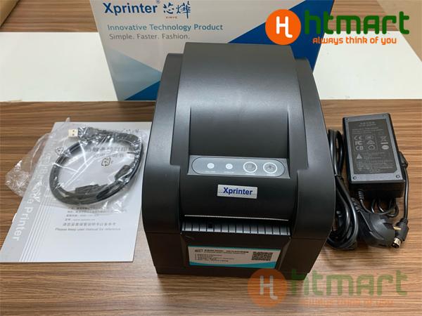 máy in mã vạch xprinter 350b